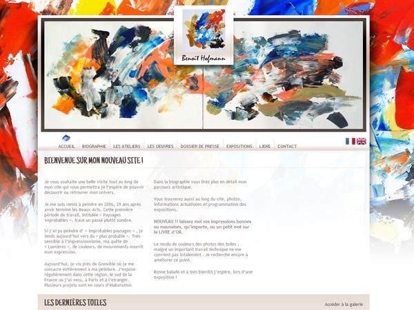Réalisation du site internet vitrine