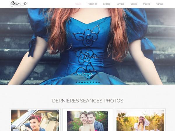 Site internet de Hidden ID photographe sur Montauban 82