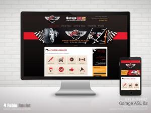 Site internet d'annonce de véhicule du garage ASL 82 basé à Montauban