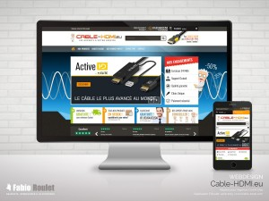 Site internet, webdesign pour le site internet e-commerce sous Prestashop