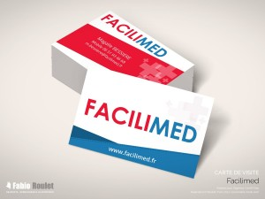 Print : Carte de visite Facilimed