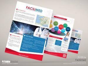 Print : Flyer A4 Facilimed