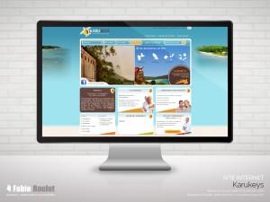 Site internet de location de villa en Guadeloupe