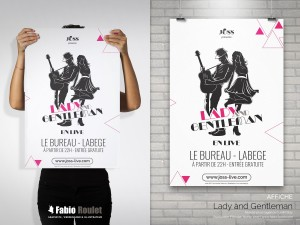 Print : Affiche Lady and Gentleman