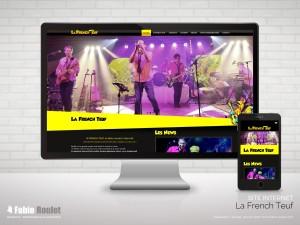 Site internet Drupal de La French Teuf