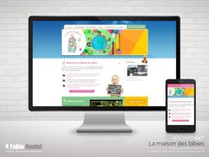 Site internet responsive sous drupal de la crèche à Montauban