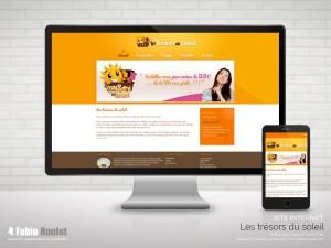 Site internet vitrine de l'association