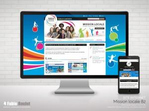 Site internet drupal de la mission locale du Tarn-et-Garonne 82