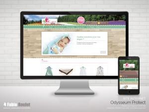 Site internet prestashop Odysseum Protect