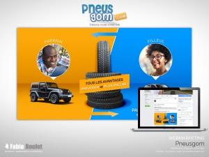 Webmarketing : Offre parrainage Pneusgom