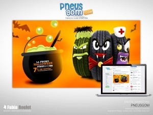 Webmarketing : Opération Halloween 2017