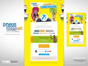 Webmarketing : Newsletter Carnaval 2017