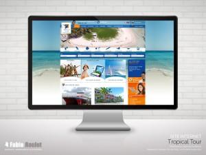 Site internet sous Odoo de l'agence de tourisme en Guadeloupe
