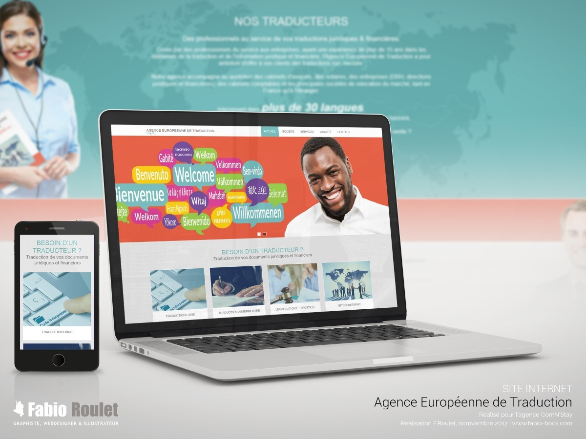 Site internet : Ae traduction