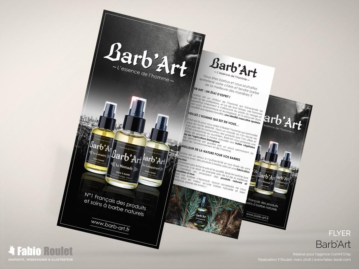 Flyer 10x21 Barb'Art
