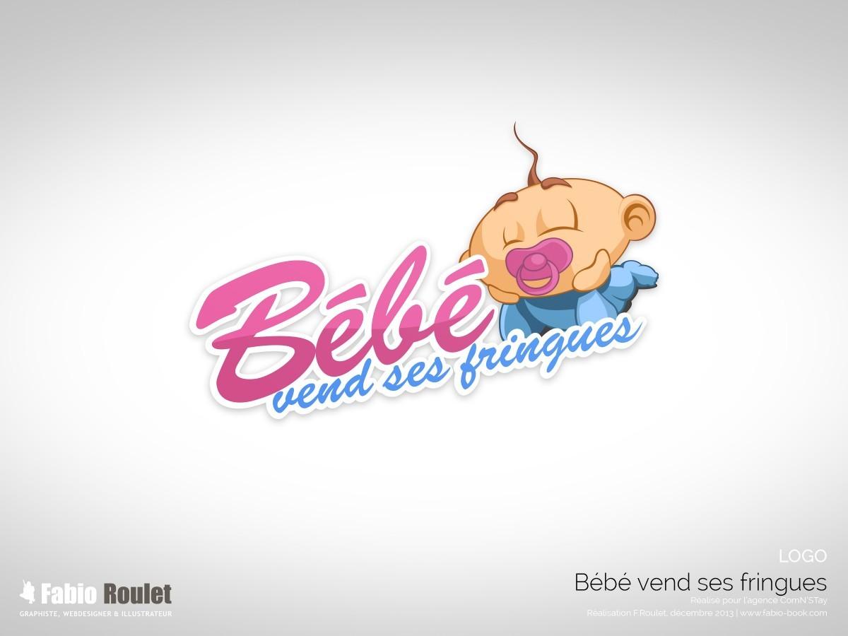 Logo du site bébévendsesfringues.com