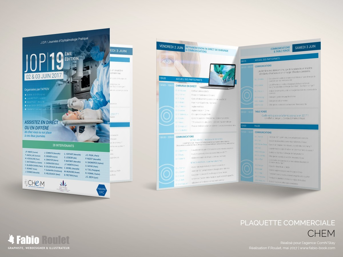 Print : plaquette A5 2 volets