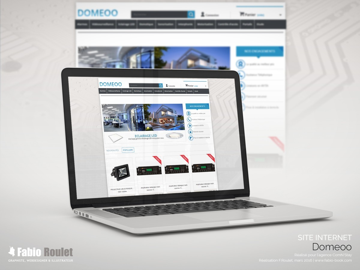 Site internet : Domeoo