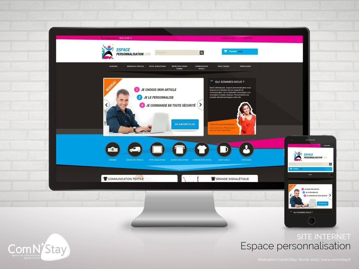 Site internet sous prestashop création du thème prestashop