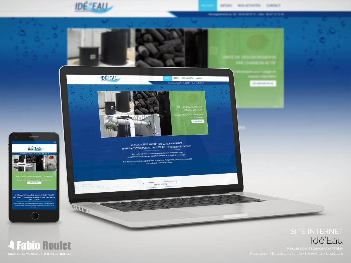 Site internet : Idé'eau
