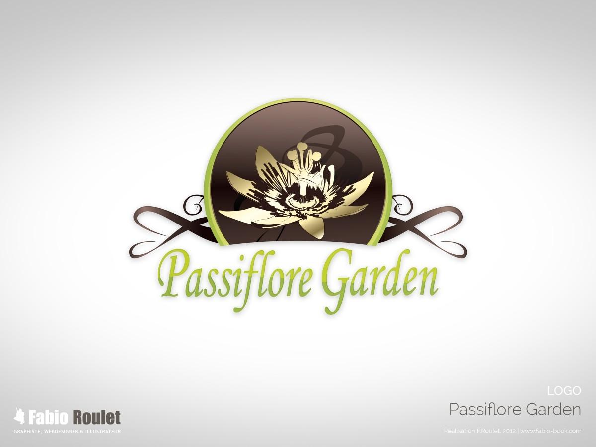 Création logo Passiflore Garden